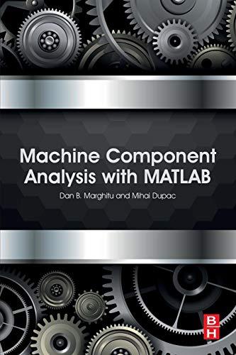 Machine Component Analysis with MATLAB -