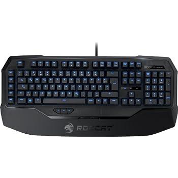Roccat Ryos MK Glow Illuminated Mechanische Gaming Tastatur (DE-Layout, Mechanische Tasten, MX Key Switch schwarz)