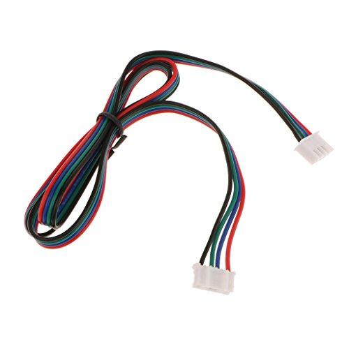 Gazechimp Stepper Motor 3D Drucker Schrittmotor Kabel aus Kunststoff + Kupfer - Mehrfarbig 0.6m / 2ft