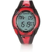 Speedo Aquacoach - Reloj resistente al agua rojo multicolor Talla:Adjustable