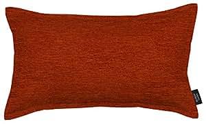 McAlister Textiles Plain Chenille   Kissenbezug für