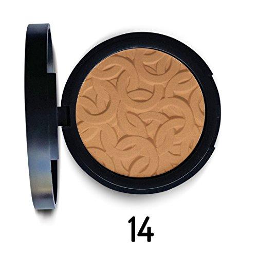 Poudre compacte matifiante - 14 Caramel - Joko