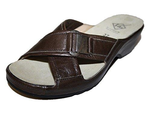 Theresia M Gill 54102.091.409, Damen Schuhe, Pantoletten Sommerschuhe Grau (rauch)