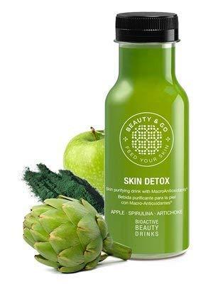 beauty & go detox 7x 250ml–bevande cosmetici multivitaminées con peptidi di collagene, macro-antioxydants e acido ialuronico. progettate per raggiungere una pelle più bella.