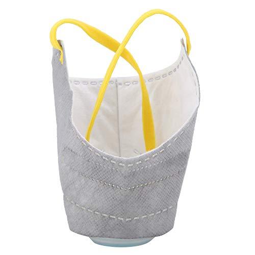 Riuty 2174/5000 Masque de Protection pour Chien, Couverture en Coton de Masque de Garde antibrouillard Ajustable et Respirante en Tissu de Coton stéréoscopique pour Petit Chien de Taille Moyenne(S)