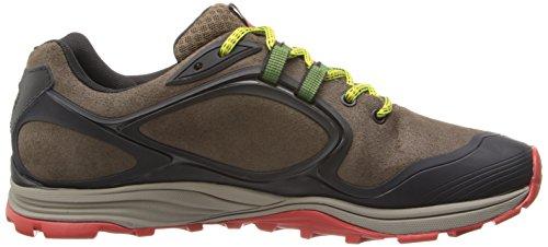 Merrell Verterra Waterproof, Chaussures de randonnée montantes homme Gris (Stone Lime)