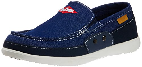 Lee Cooper Men's Blue Running Shoes - 8 UK  available at amazon for Rs.1349