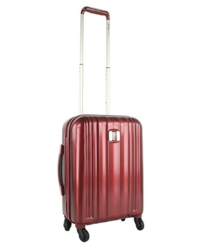 Valise ELITE SHIELD APOLLO Bordeaux polycarbonate 52 cm