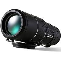 UrChoiceLtd® 2017 KINGOPT 30X52 Zoom Dual Verde Zoom Óptica Verde Monocular Telescopio Para Niños Gazes Cósmicos y Actividad Periódicos y Observación de Aves Caza y Viaje - Compact Plegable Tamaño de Bolsillo - Alto Visión Clara