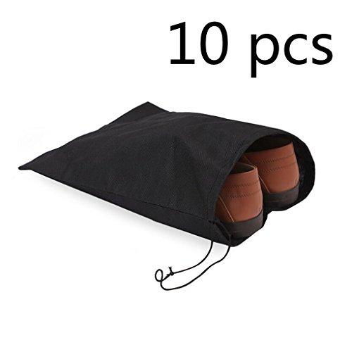 1bdbdcb39 Leisial 10 unidades Bolsas de Zapatos Bolsa de Almacenamiento Accesorios de  Viaje con Cordón para los