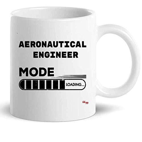 Not Applicable Taza de café de 11 oz de Ingeniero aeronáutico - Regalo de cumpleaños de colega de ingeniería para Hombres y Mujeres