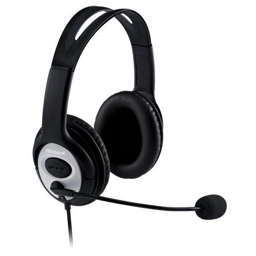 Microsoft LifeChat LX-3000 - Casque PC filaire Noir