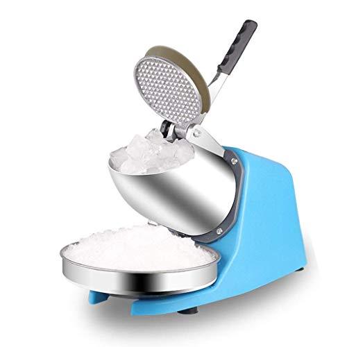 Kylinvfr Ice Shaver Machine Elektrische Schneekegelmaschine Edelstahl Rasierte Eismaschine 85kg pro Stunde (Ice 220v Machine Maker)