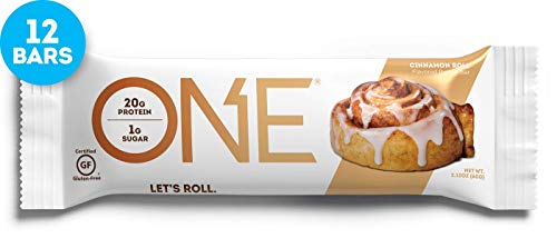 OY YEAH ONE BAR 12x 60g (Cinnamon Roll) -