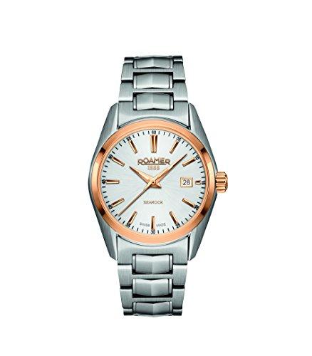 Roamer Damen-Armbanduhr SEAROCK LADIES QUARTZ Analog Quarz 210844 49 15 20