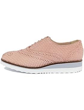 ARNALDO TOSCANI - DONNA - scarpa stringata in pelle - 2110608_COBRA_SALMONE_TS