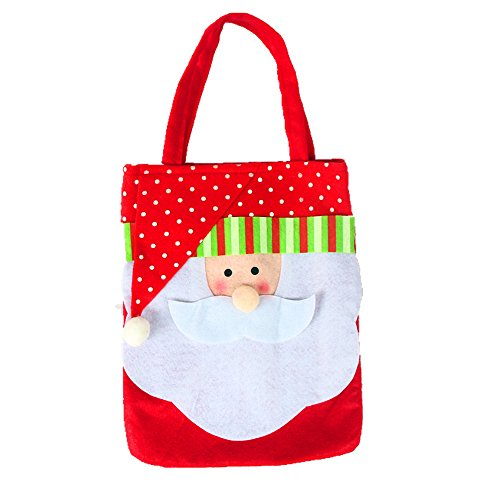 Sunfire Christmas Gift Bag Candy Bag Santa Stockings Christmas Decorations Snowman Pattern