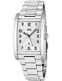 Oris Herren-Armbanduhr Armband Edelstahl + Gehäuse Automatik 56176934031MB