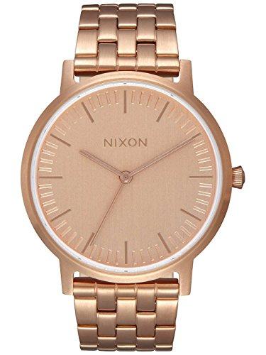 Nixon Mixte Analogique Quartz Montre avec Bracelet en Acier Inoxydable A1198-897-00