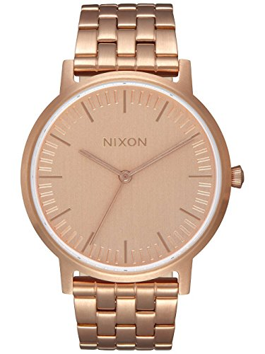 Nixon Unisex Erwachsene-Armbanduhr A1198-897-00 (Nixon Watch Gold Rose)