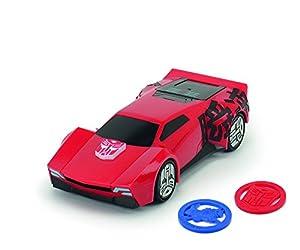 Dickie Toys 203114004 - Vehículo de Sideswipe de Transformers, 20 cm