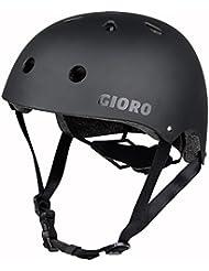 Gioro Casque de skate, cyclisme, trottinette réglable