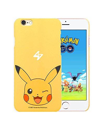 Pokemon iphone 6s jigglypuff Custodie e cover,iphone 6 Pokemon Go Case,jigglypuff Custodia in plastica dura della copertura posteriore Case Cover per Iphone 6/6s 4.7 inch - jigglypuff pikachu