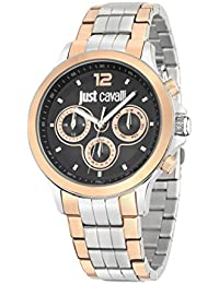 Just Cavalli Herren-Armbanduhr Analog Quarz Edelstahl R7253596001