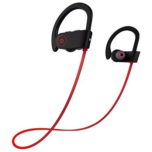 Sport Bluetooth Kopfhörer , Bluetooth 4.1 Kabellos Stereo In Ear Kopfhörer Sportkopfhörer Joggen Ohrhörer Wireless Magnetische Headset mit Mikrofon für iPhone, iPad, Samsung, Nexus, HTC und mehr Ich Sport Wireless Kopfhörer