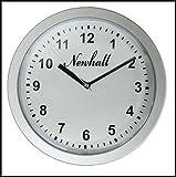 Wanduhr mit Geheimfach Größe: ca. 25 x 6 cm, Farbe: silber Batterien nicht im Lieferumfang enthalten, benötigt werden 1xAA Batterie. Hinter dieser Uhr befindet sich ein Geheimversteck, in dem Sie Ihre Wertgegenstände wie Bargeld, Schmuck, Scheckkarte...