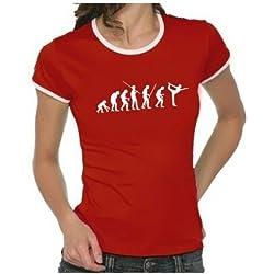 """Camiseta para hombre y mujer """"Yoga Evolution"""""""
