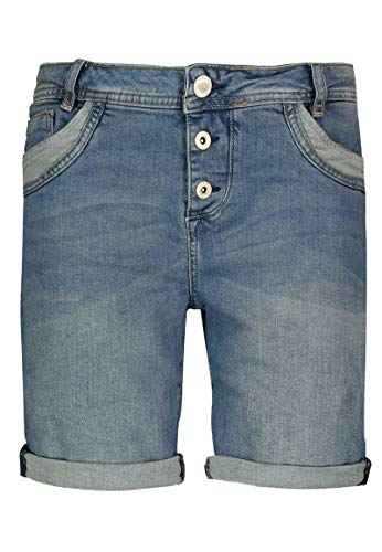 eb6b1bebfeddb9 Sublevel Damen Shorts | Blaue Jeans Bermuda mit Destroyed Parts im  Boyfriend-Style Dark-Blue M