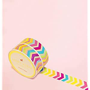Bunte Pfeile Washi Tape for Planning • Planer und Organizer • Scrapbooking • Deko • Office • Party Supplies • Gift Wrapping • Colorful Decorative • Masking Tapes • DIY (15mm breit - 10 Meter)
