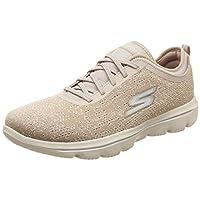 SKECHERS Go Walk Evolution Ultra, Women's Road Running Shoes, Brown (Taupe), 6.5 UK (39.5 EU)