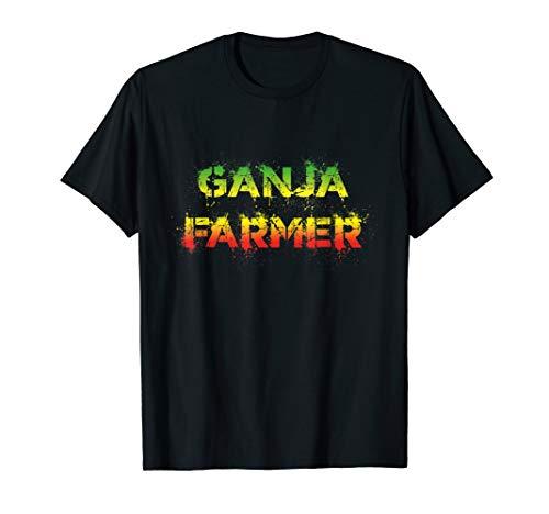 Reggae Shirt - Ganja Farmer Rastafari T-Shirt