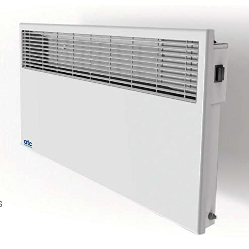 41nHdf6KttL. SS500  - ATC PH1000T 'Sun Ray' Wall Mounted Panel Convector Heater with Timer 1kW / 0.5kW