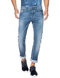 Salsa - Jeans Lima avec délavage moyen clair - Homme