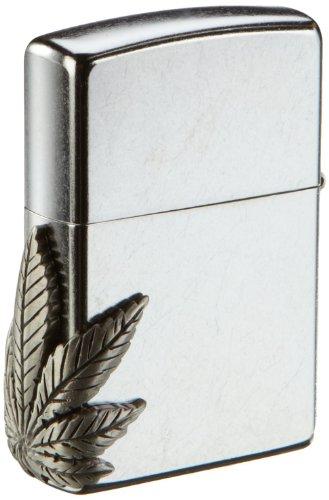 zippo-2000561-briquet-hanfblatt-chrom-motif-latral