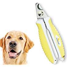 Cortaúñas para perros de tamaño pequeño, mediano y grande con manual de instrucciones para saber cómo le debe cortar las uñas a su perro