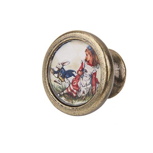 Sharplace Vintage Möbelgriff Möbelknöpfe mit Schraube für Kommoden Schrank - #1