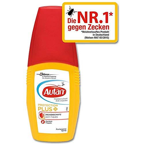 Autan Protect Plus Zecken Spray, 100 ml (Zecken-repellent Menschen Für)