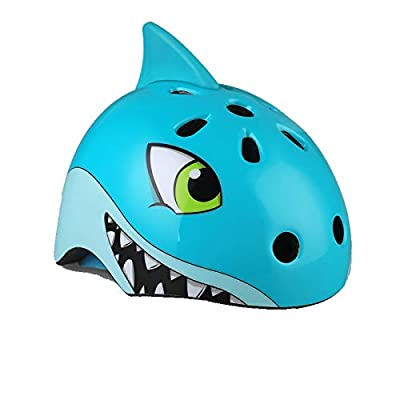 YosicilWaroom Kid's Bike Helmet, Protective Street Sports,3-12 Years Old Boys and Girls Multi-Sport Safety Helmet for Cycling/Skateboard/Scooter/Skating/Roller Blading Protective Gear by YosicilWaroom