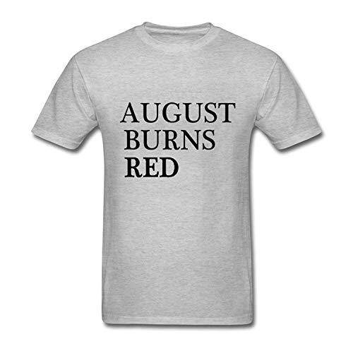 August Burns RED Men's Short Sleeve Cotton Tee Shirt - August Burns Red-shirts