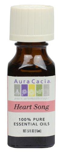 Preisvergleich Produktbild Aura Cacia Heart Song Duftmischungen 1 / 2 oz. Flasche 191149