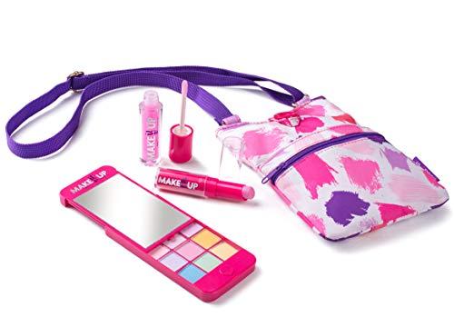 Make it Up Schminkpalette für Mädchen - in superschicker iPhone-Attrappe mit Spiegel - SICHERHEITSGEPRÜFT - UNGIFTIG (myPhone Schminke Pallette und Mode Geldbörse)