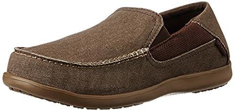 Crocs Santa Cruz 2 Luxe M Men's Low-Top Sneakers - Brown (Espresso/Walnut), 10 UK (45-46 EU)