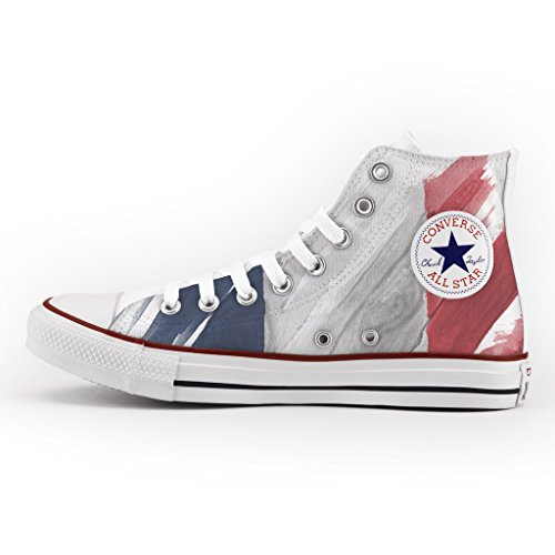 Converse All Star Personnalisé et Imprimés - chaussures à la main -...