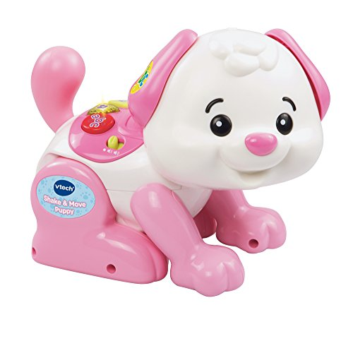 VTech 146953 Shake and Move Puppy (Pink/white)