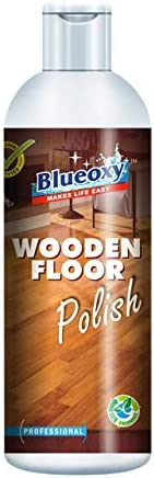 BlueOxy Wooden Floor Polish: Pack of 1 | Wood Cleaner | Conditioner & Polisher - For Hardwood Floors | Fur