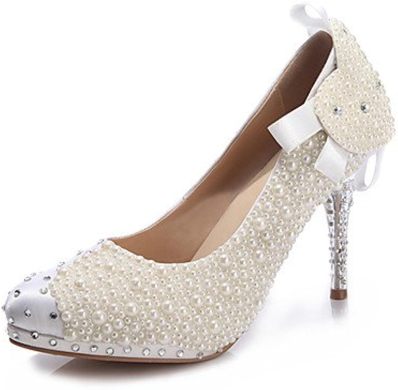 Zormey Women'S Heels Spring Summer Fall Winter Comfort Novelty Leather Wedding Party &Amp; Evening Stiletto Heel...